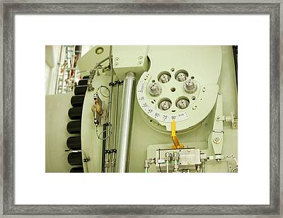 Fljotsdalur Hydro Power Station Framed Print by Ashley Cooper