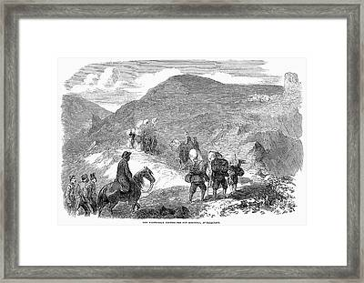Florence Nightingale Framed Print by Granger