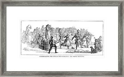 French Revolution, 1790 Framed Print