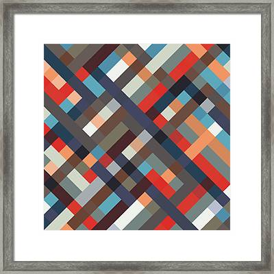 Geometric Framed Print