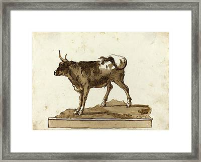 Giovanni Domenico Tiepolo, Italian 1727-1804 Framed Print by Litz Collection