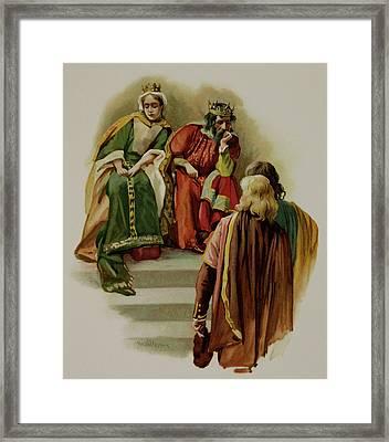 Hamlet Framed Print by British Library