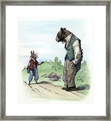 Harris Uncle Remus, 1895 Framed Print by Granger