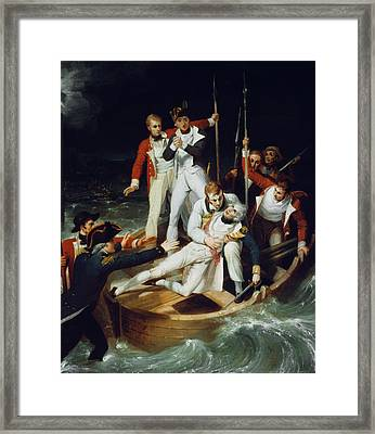 Horatio Nelson (1758-1805) Framed Print