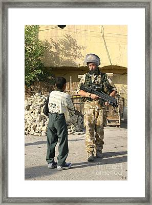 Iraq Framed Print