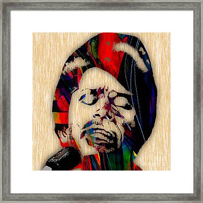 James Brown Collection Framed Print