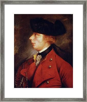 James Wolfe (1727-1759) Framed Print