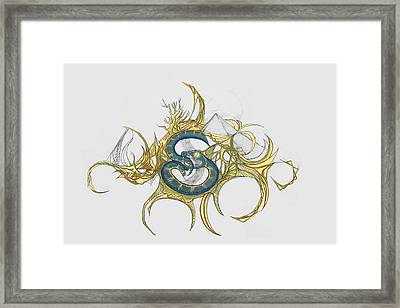 11 Framed Print by Jessica McLellan