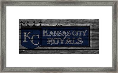 Kansas City Royals Framed Print by Joe Hamilton