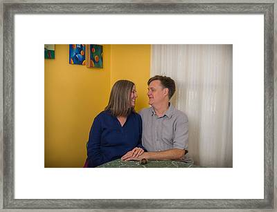 Kathy And Allan Framed Print