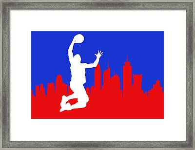 Los Angeles Clippers Framed Print