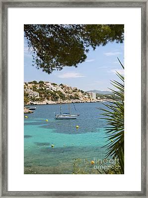 Majorca Framed Print by Design Windmill