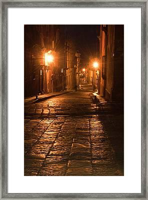 Mexico, San Miguel De Allende Framed Print