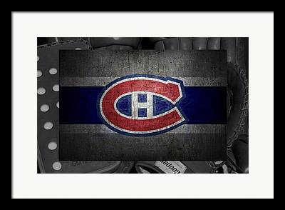 Montreal Hockey Framed Prints