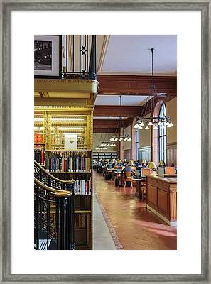 New York, Usa Framed Print by Ken Welsh