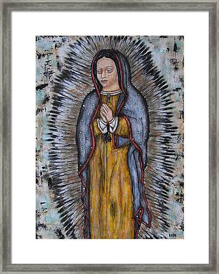 Our Lady Of Guadalupe Framed Print by Rain Ririn