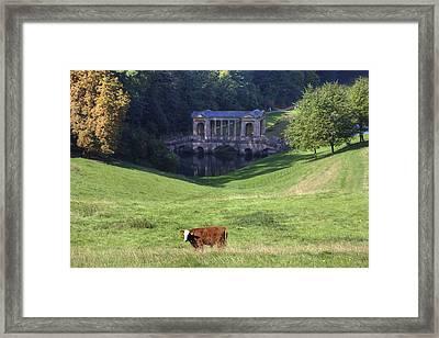 Prior Park Framed Print by Joana Kruse