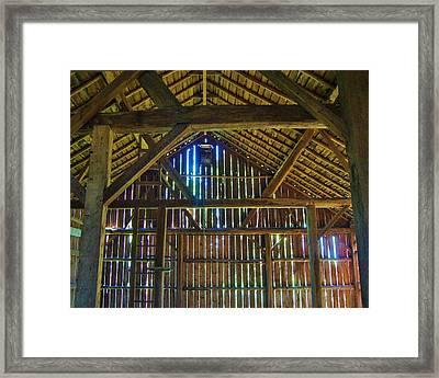Ps Schroeder Estate Framed Print by Carol Toepke
