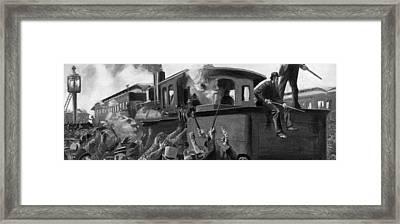 Pullman Strike, 1894 Framed Print by Granger