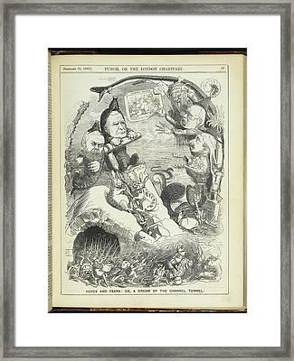 Punch Framed Print