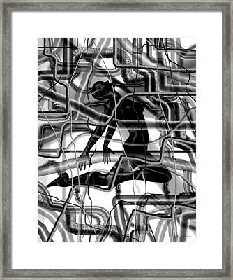 Putsches Change Of The Century Framed Print by Sir Josef - Social Critic -  Maha Art