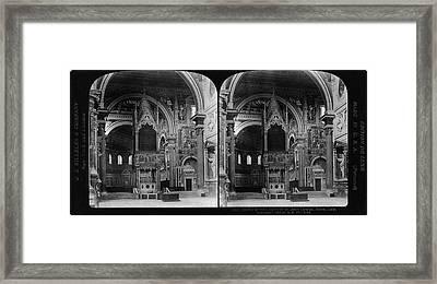 Rome St Framed Print