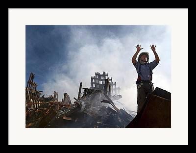 September 11th Attacks Framed Prints