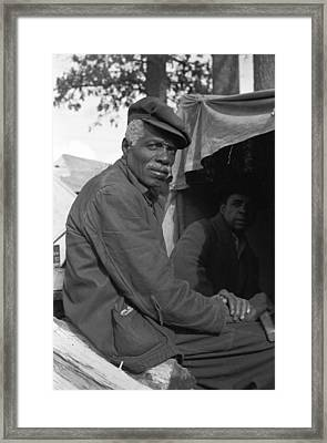 Sharecropper, 1939 Framed Print by Granger