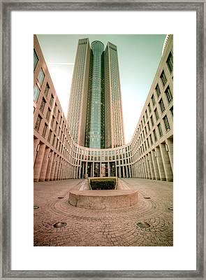 Space At Frankfurt Framed Print by Steffen Gierok