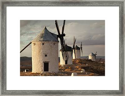 Spain, Castile-la Mancha Region, Toledo Framed Print