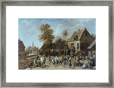 Teniers II, David, The Younger Framed Print by Everett
