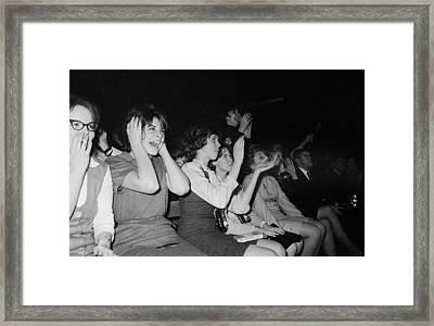 The Beatles, 1964 Framed Print by Granger