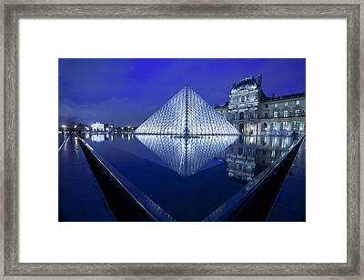 The Louvre Paris Framed Print