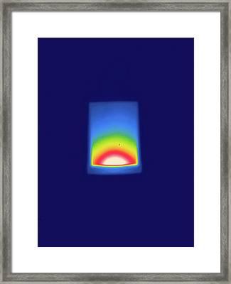Thermogram Framed Print