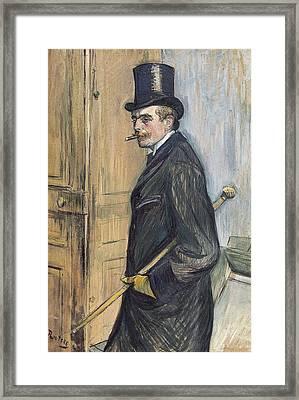 Toulouse-lautrec, Henri De 1864-1901 Framed Print by Everett