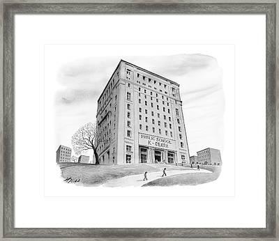 New Yorker September 4th, 2006 Framed Print