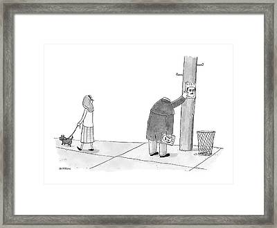 New Yorker January 28th, 2008 Framed Print