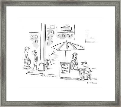 New Yorker February 13th, 2006 Framed Print