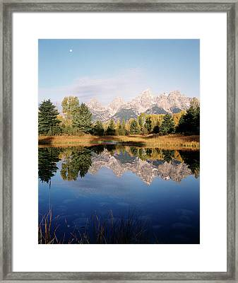 Usa, Wyoming, Grand Teton National Framed Print by Adam Jones