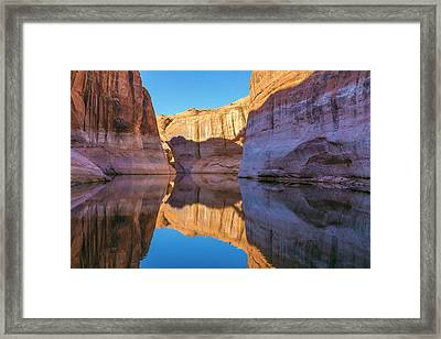 Utah, Glen Canyon National Recreation Framed Print