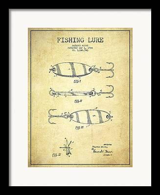 Fishing Lure Framed Prints