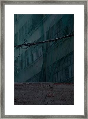 Vistas De Ciudad Framed Print