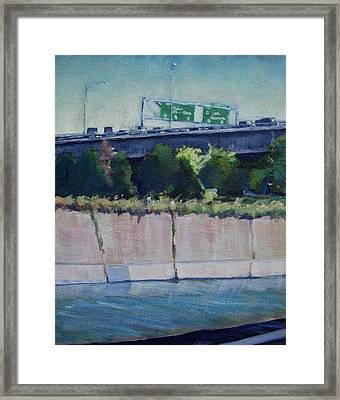 110 Freeway South Framed Print