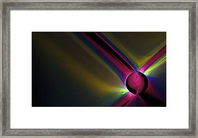 1109 Framed Print by Lar Matre