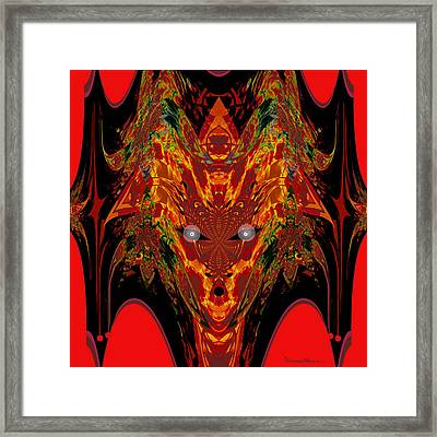 1112 -   Trace Of Evil Framed Print