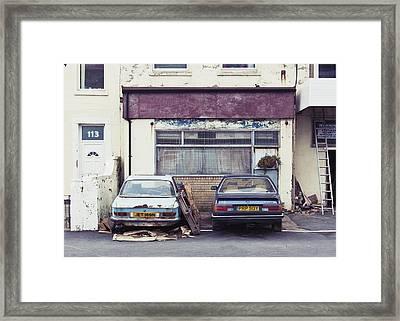 113 Framed Print