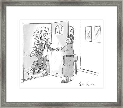 New Yorker June 1st, 2009 Framed Print