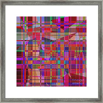 1131 Abstract Thought Framed Print