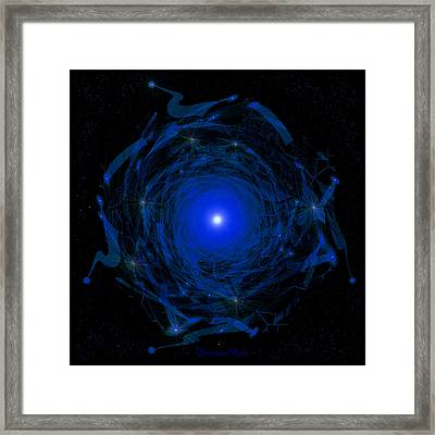 1138 -  Travelling To The Light Framed Print