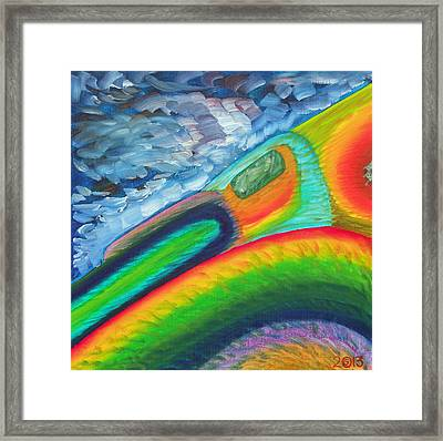 114 'lagostract' Framed Print by Gregory Otvos